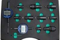 DL-CRN50092 Adapter set with digital dial indicators for assembly gaps measurement and nozzle valve and needle stroke measurement.
