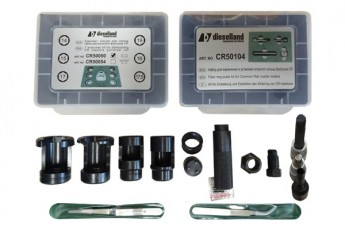 DL-TOOL KIT-12. Tool kit for repair of CR injectors: